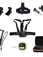 7 Accessori GoPro Accessori Kit Per Gopro Hero 4 Session Tutto in unoSub e immersioni / Pattinare / Motoslitta / Sci / Caccia e Pesca /