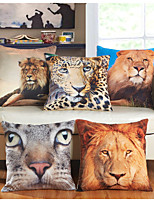 Baolisi Set of 5 3D Animal world series  Decorative Pillow /European fashion