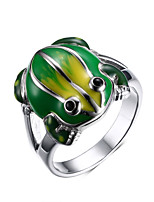 Ms Color Frog 18 K Gold Ring