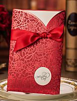 Cartes d'invitation / Faire-Parts de Fiançailles Invitations de mariage Format Enveloppe & Poche Personnalisé 50 Pièce/Set