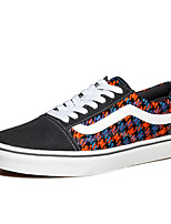 Men's Shoes Outdoor / Athletic / Casual Microfibre Fashion Sneakers Black / Blue / Gray