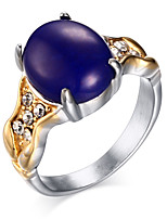 Ms 18 K Gold Set Auger Titanium Rings