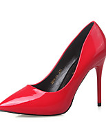 Women's Shoes  Stiletto Heel Heels / Closed Toe Heels Dress Black / Pink / Red / Gray