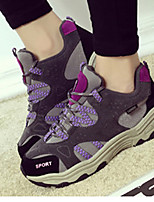 Women's / Girl's Hiking Shoes Suede Black / Purple / Gray