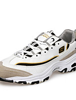 Men's Spring / Summer / Fall / Winter Comfort Tulle Outdoor / Athletic Flat Heel Lace-up Black / Gray / Gold Sneaker
