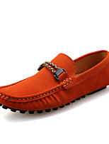 Men's Shoes Office & Career / Casual Canvas Loafers Black / Navy / Orange / Burgundy