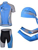CHEJI Cycling Short Sleeves Sets Pirate Scarf & Sleeves