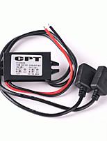 Iztoss Double USB Car Converter Module 12V To 5V 3A 15W Power Adapter