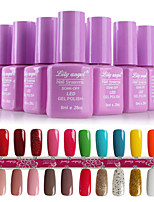 Nail Systems  Soak-off UV & LED Gel Polish (8ml,1-24 Colors)