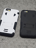 For iPhone 6 Plus Case Shockproof / with Stand Case Back Cover Case Armor Soft Silicone iPhone 6s Plus/6 Plus