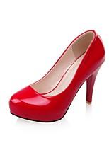Women's Shoes Leatherette Stiletto Heel Heels Heels Wedding / Office & Career / Party