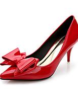 Women's Shoes  Stiletto Heel Heels / Pointed Toe / Closed Toe Heels Dress Black / Red / Gray