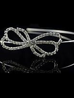 Dame Rhinestone / Krystall / Legering Headpiece Bryllup / Spesiell Leilighet Pannebånd Bryllup / Spesiell Leilighet 1 Deler