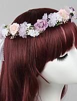 Stof Vrouwen Helm Bruiloft / Speciale gelegenheden / Casual / Outdoor Guirlandes Bruiloft / Speciale gelegenheden / Casual / Outdoor1