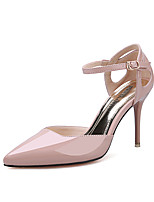 Women's Shoes  Stiletto Heel Heels / Pointed Toe / Closed Toe Sandals Dress Black / Pink / White