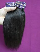 new 7a quality peruvian virgin hair straight raw remy peruvian human hair mixed length 300g lot natural color