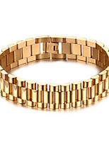 316 Titanium Steel 18K Man Bracelet