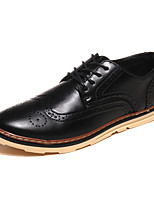 Men's Shoes Outdoor / Office & Career / Casual Oxfords Black / Brown / Yellow / Red