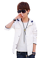 A young Korean spring jacket Hooded Jacket Mens Casual students personalized T-shirt tide