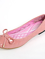 Women's Shoes Leatherette Flat Heel Comfort / Round Toe Flats Casual Pink