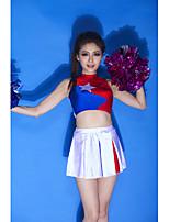 Performance Outfits Women's Performance Spandex Appliques 2 Pieces Blue