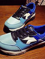 Scarpe Donna-Sneakers alla moda-Tempo libero / Casual / Sportivo-Comoda-Piatto-Finta pelle-Nero / Blu / Arancione