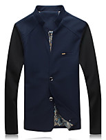 Men's Fashion Casual Long Sleeved Jacket Plus Sizes