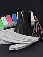 52PCS/set Sanding Files Buffer Block Nail Art Salon Manicure Pedicure Tools UV Gel Set Kits