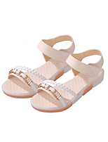 Women's Shoes Leatherette Flat Heel Comfort Sandals Casual Blue / Pink