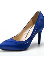Damesschoenen-Huwelijk / Formeel / Feesten & Uitgaan-Zwart / Blauw / Rood / Wit / Donker Rood-Stilettohak-Hoge hakken / Gepunte neus-hoge