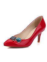 Women's Shoes Stiletto Heel Heels Heels Office & Career / Party & Evening / Dress Black / Red