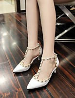 Women's Shoes Leatherette Stiletto Heel Heels Heels Office & Career / Party & Evening / Dress / Casual