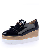 Women's Shoes Wedge Heel Wedges / Platform Heels Office & Career / Party & Evening / Dress Black / White