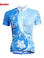 Top-Ciclismo-Per donna-Maniche corte-Traspirante / Resistenteai raggi UV / Asciugatura rapida Estate / Autunno ElasticoS / M / L / XL /