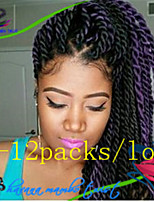 New Arrive Hot Sale 1Pack/Lot 12-24'' Synthetic Hair Havana Twist Crochet Braids for Female and Children