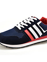Men's Shoes Casual Fabric Fashion Sneakers Black / Blue / Gray / Royal Blue