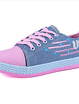 Women's Shoes Canvas Flat Heel Comfort Fashion Sneakers Casual / Athletic Blue