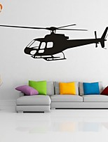 AYA™ DIY Wall Stickers Wall Decals, Airplane PVC Wall Stickers
