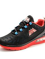 Zapatos Running Tul Azul / Negro / Rojo Hombre