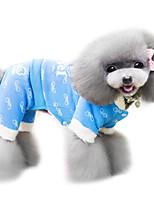 Dog Coat Blue / Pink Spring/Fall Fashion