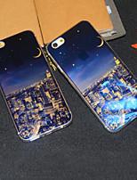 Für iPhone 6 Hülle iPhone 6 Plus Hülle Hüllen Cover Muster Rückseitenabdeckung Hülle Stadtansicht Weich TPU füriPhone 6s Plus iPhone 6