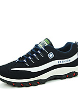 Men's Shoes Outdoor/Athletic/Casual Suede Leather Fashion Runing Shoes Black white/Black red/Bule
