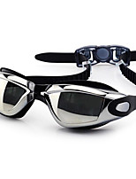 FEIUPE®Adjustable Size, Waterproof, Anti-Fog for Unisex Black/Blue/Grey/Orange/Light Pink/Light Blue Swimming Goggles