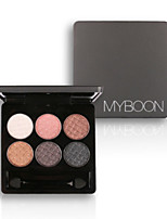 6 Eyeshadow Palette Dry Eyeshadow palette Powder Normal Daily Makeup