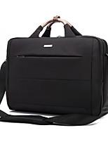 Saco de 15,6 polegadas bolsa de ombro laptop à prova de água pano de nylon saco do mensageiro notebook mão para macbook / dell / hp /