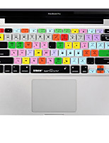 XSKN Cut Pro 7 silicone pele tampa do teclado definitivo laptop para MacBook Air de 13 polegadas, o MacBook Pro 13 15 17 polegadas, nós