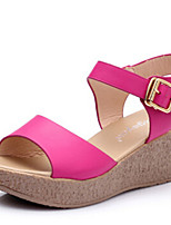 Women's Shoes Sandals Leatherette Wedges Heel Office & Outdoor & Casual &Dress More Colors