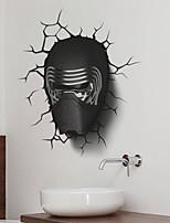 AYA™ DIY Wall Stickers Wall Decals,3D Star Wars PVC Wall Stickers