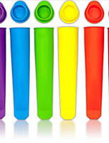 Silicone Popsicle Mold  Ice Pop Molds Ice Cream Tools (Random Color)
