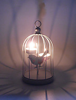 Creative Storm Lantern Crafts And Gifts Furnishing Articles Birdcage Wrought Iron Candlestick